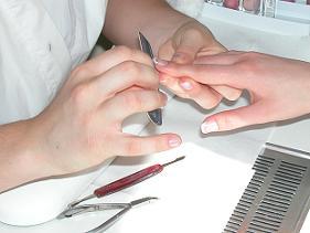 Manicure estetica.